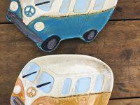 Retro volkswagenbus